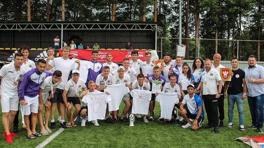 Сборная КФУ определилась с заявкой на чемпионат Национальной студенческой футбольной лиги