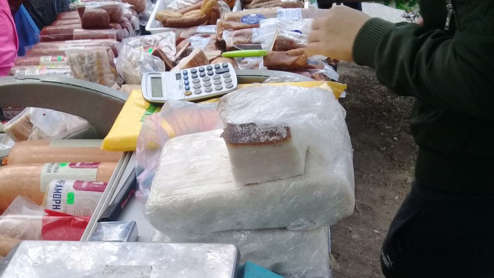 Специалисты отдела ветеринарии в городе Феодосия провели рейд на сельскохозяйственной ярмарке в пгт Орджоникидзе