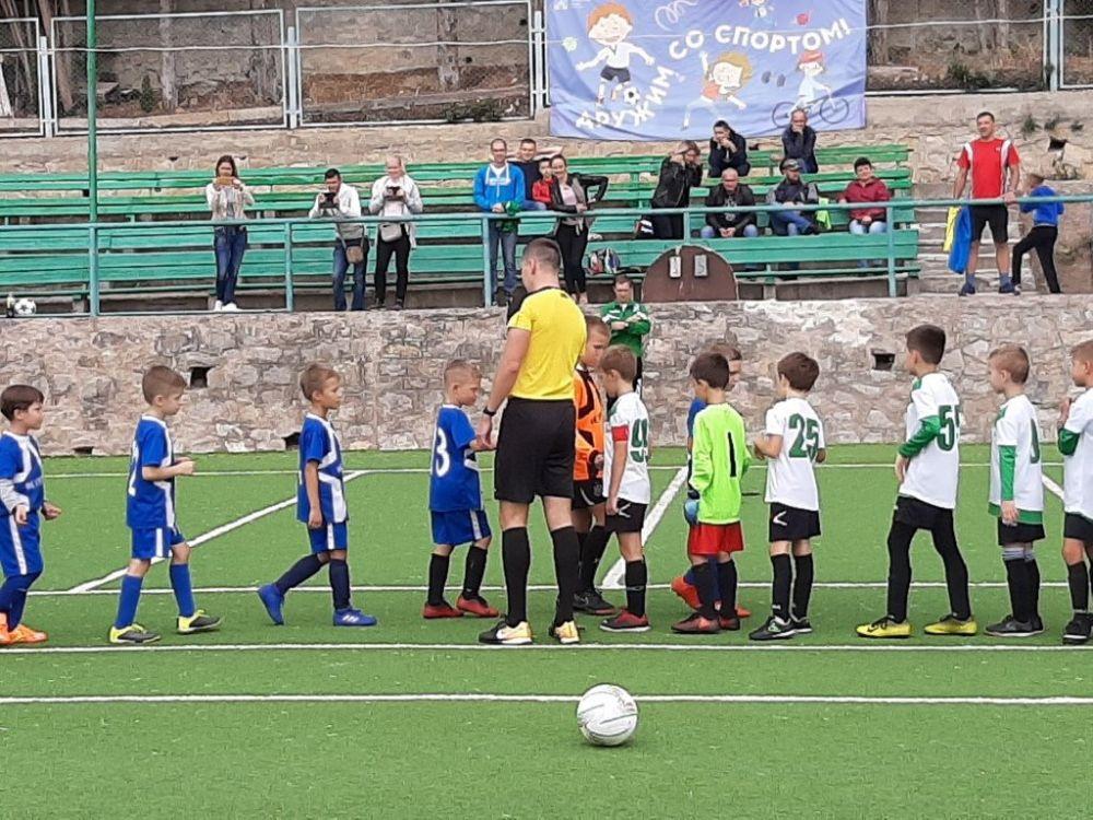 ФК «Мисхор» одержал победу в игре Открытого Первенства детско-юношеской футбольной лиги РК
