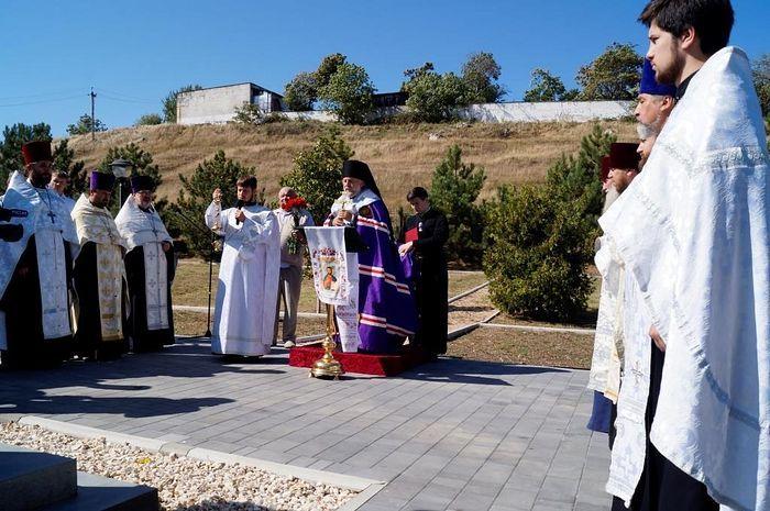 В Симферополе освятили храм Марии Магдалины