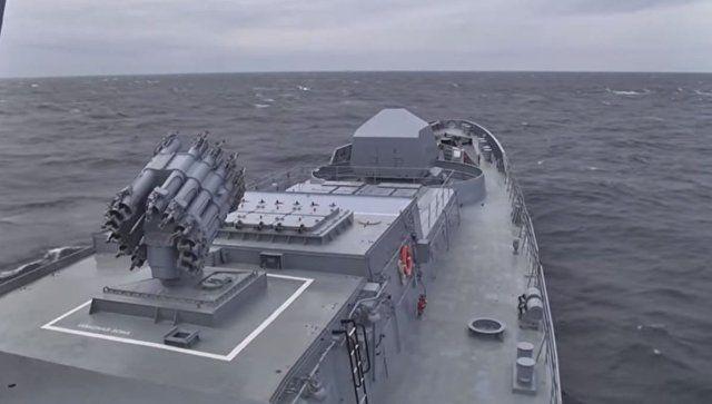 """""""Калибры"""" над Черным море: видео стрельб с подлодки """"Колпино"""""""