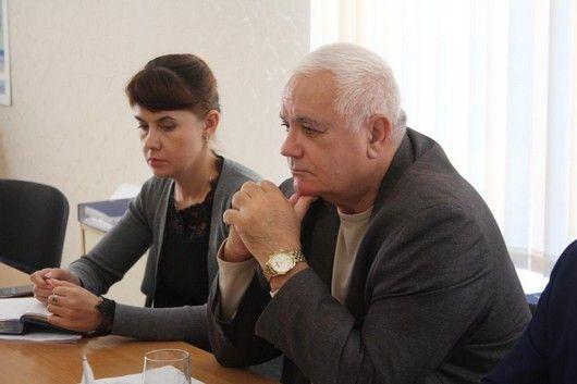 Георгий Шаповалов и Валерий Аксёнов обсудили острые проблемы Щелкино в сфере экологии
