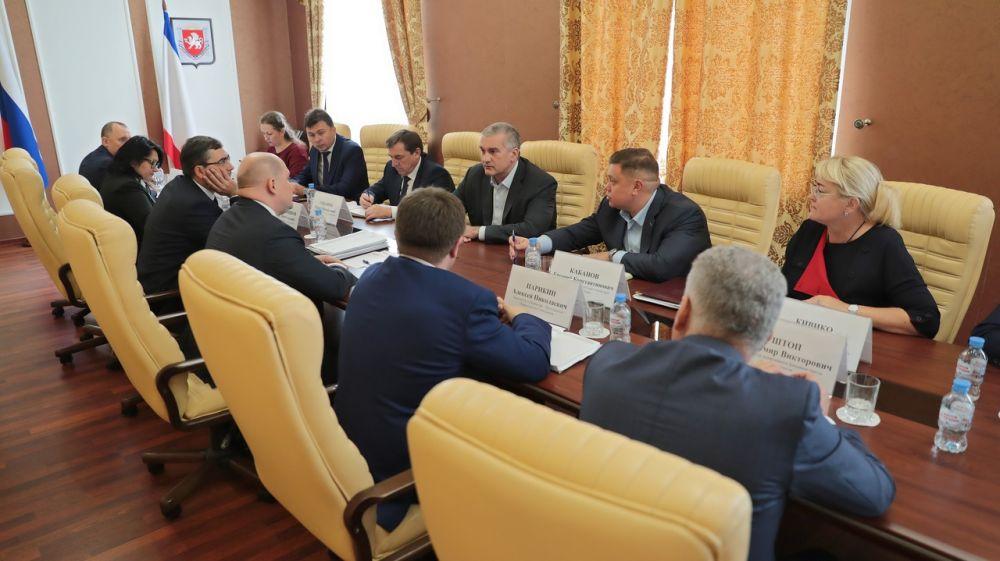 Сергей Аксёнов: Крым и Севастополь выработают единую позицию по развитию двух субъектов
