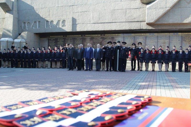 Торжественную клятву кадета МВД дали 145 школьников