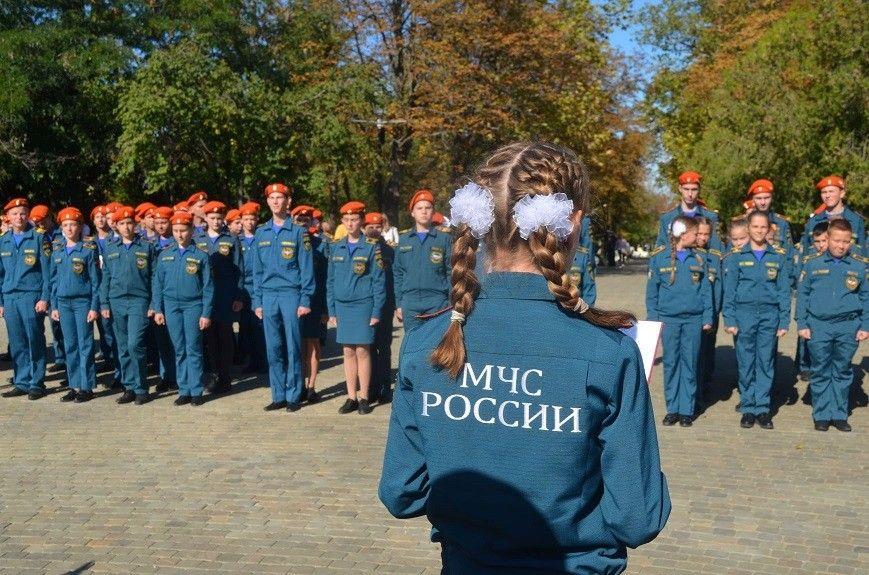 Посвящение в кадеты МЧС прошло на Малаховом кургане