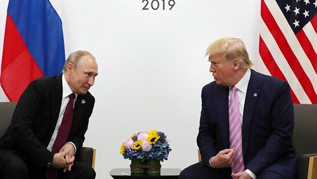 Путин объяснил, почему Трамп не пытается улучшить отношения с Россией