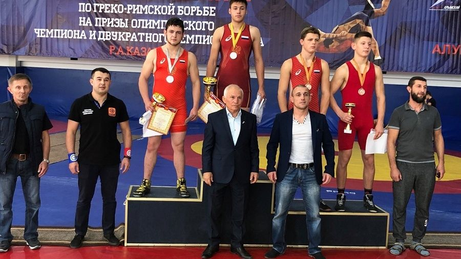 Все победители и призеры Всероссийского борцовского турнира на призы Рустема Казакова