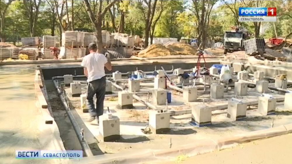 Работы в сквере 60-летия СССР планируют завершить к декабрю
