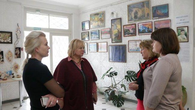 Мая ХУЖИНА познакомилась с работой библиотечной системы
