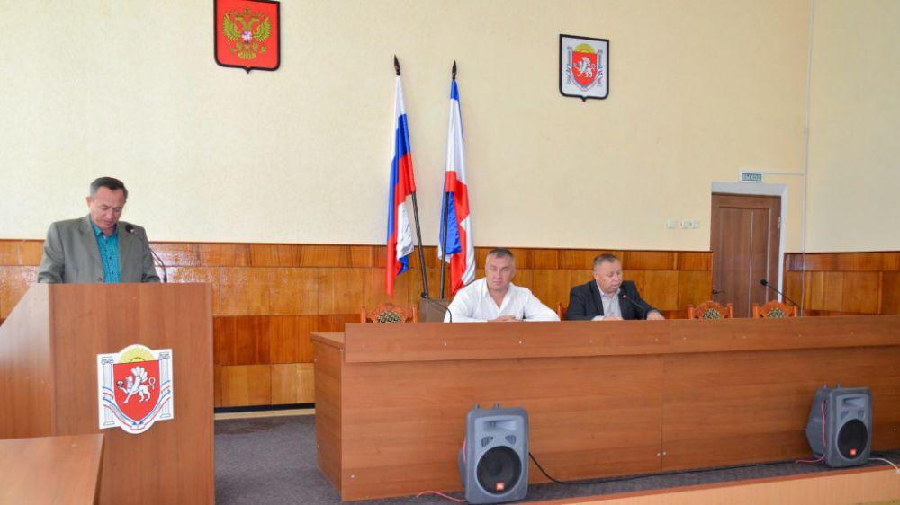 Владимир Кульнев обсудил с коллегами актуальные вопросы жизнедеятельности района