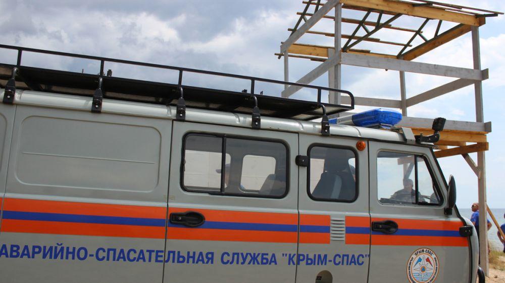 Мужчина сорвался со скалы в Черноморском районе