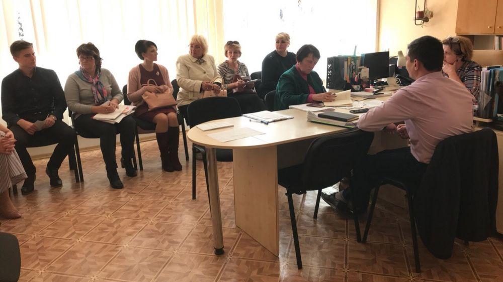 Заседание муниципальной комиссии по делам несовершеннолетних и защите их прав