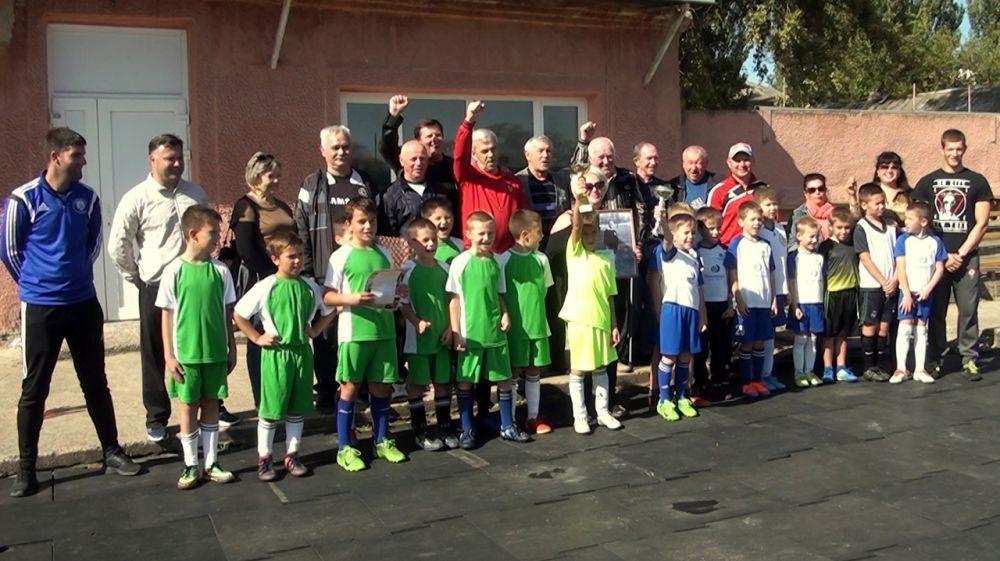В Джанкое состоялся футбольный матч между юношескими командами