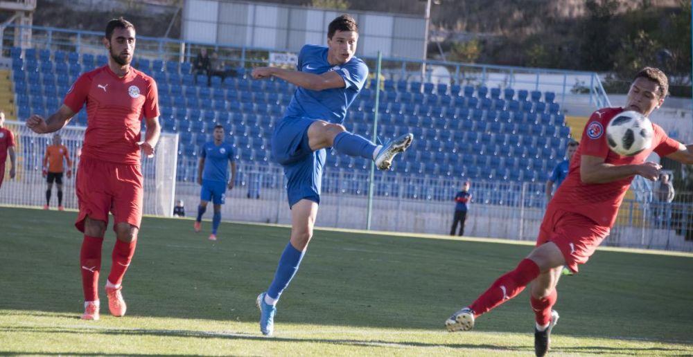 Футболисты «Севастополя» не смогли дома обыграть «Кызылташ»
