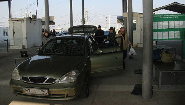 Украинцам не дали провезти в Крым более 300 кг продуктов
