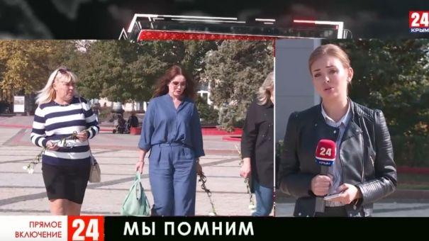 Крым скорбит по погибших в политехническом колледже в Керчи