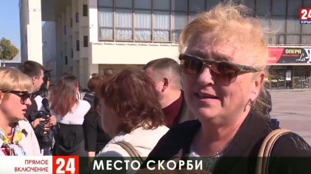 В Симферополе вспоминают жертв Керченской трагедии