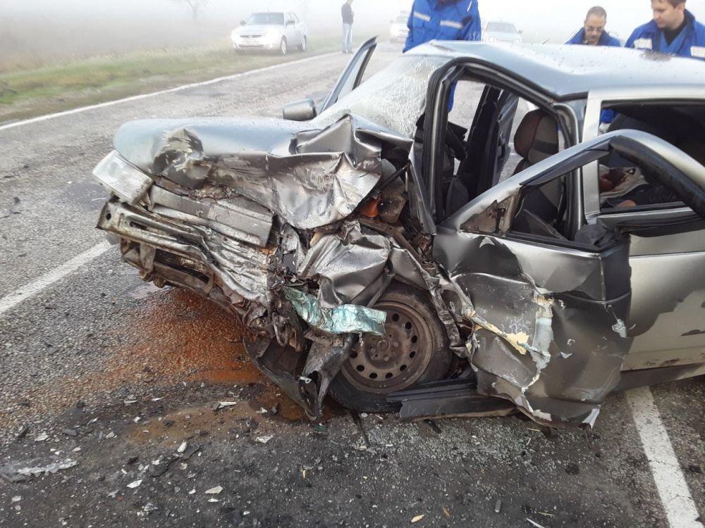 Жуткое ДТП на трассе Черноморское — Евпатория: есть жертвы