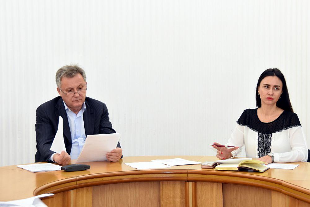Прошло заседание Президиума горсовета