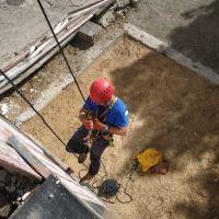Тренировки горных спасателей