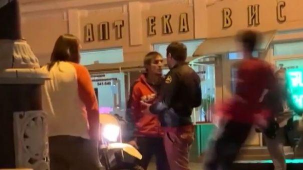 В Симферополе неадекватный мотоциклист избил корреспондента «Крым 24»
