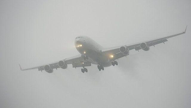 Из-за сильного туман задержаны рейсы в Симферопольском аэропорту