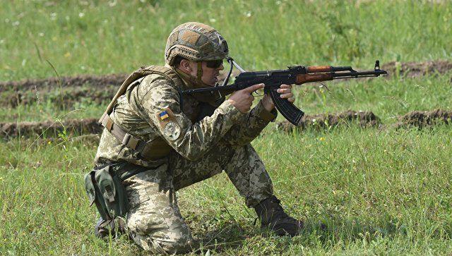 Власти ЛНР: ВСУ готовят позиции под военную технику возле города Золотое