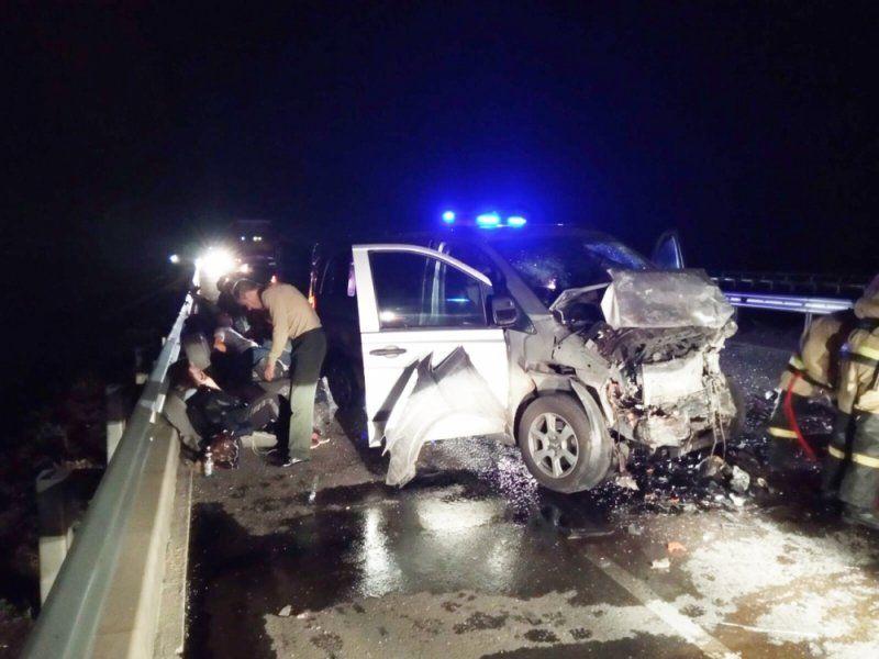 """Погибший водитель не имел прав: стали известны подробности ночного ДТП на """"Тавриде"""""""