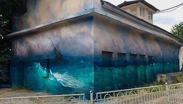 Крымский художник считает, что Симферополю не хватает расписанных стен