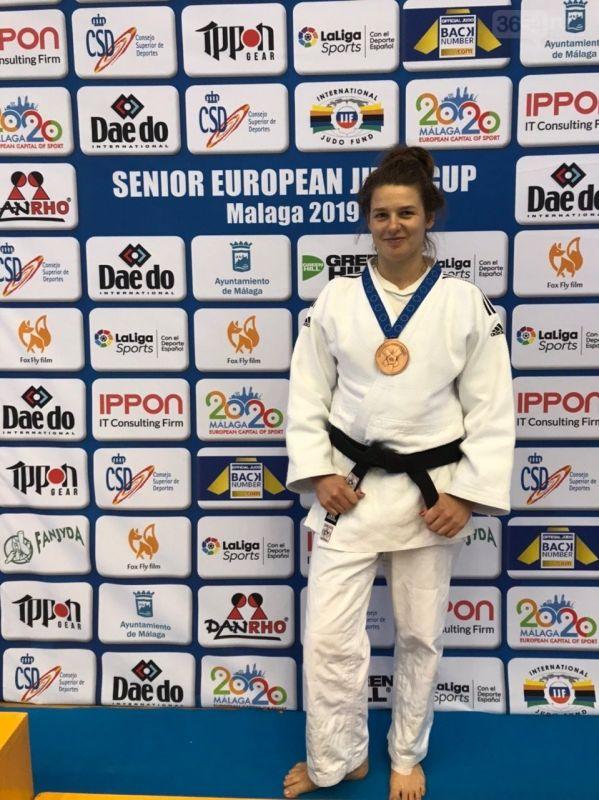 Алупчанка Екатерина Лялина завоевала бронзу на кубке Европы по дзюдо