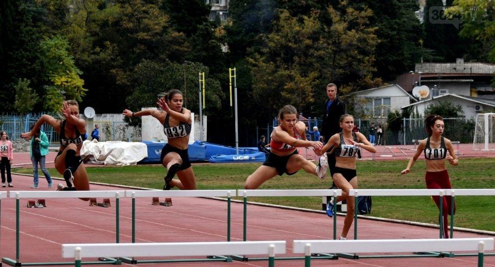 В Ялте выявили лучших легкоатлетов Крыма