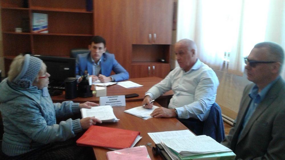 Валерий Коваленко провёл приём граждан в Гаспре