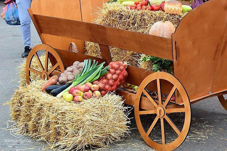 Крымские аграрии реализовали более 200 тонн продукции на ярмарке ко Дню народного единства