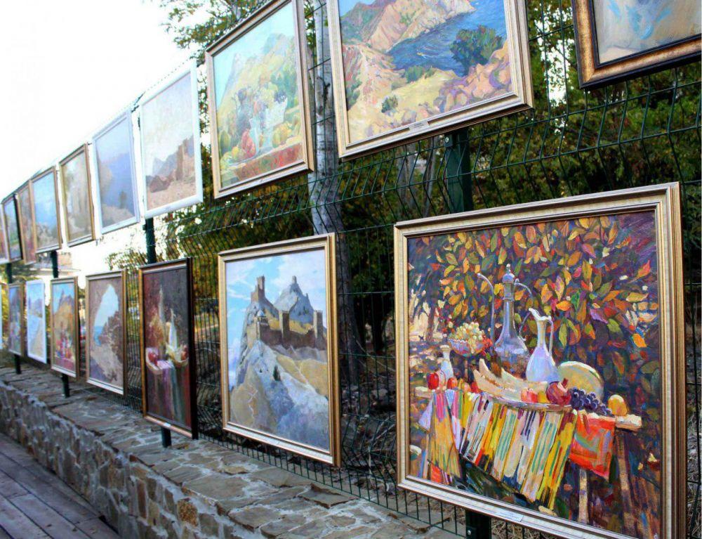 Гран-при пленэра «Крымская палитра» забрала художница из Москвы