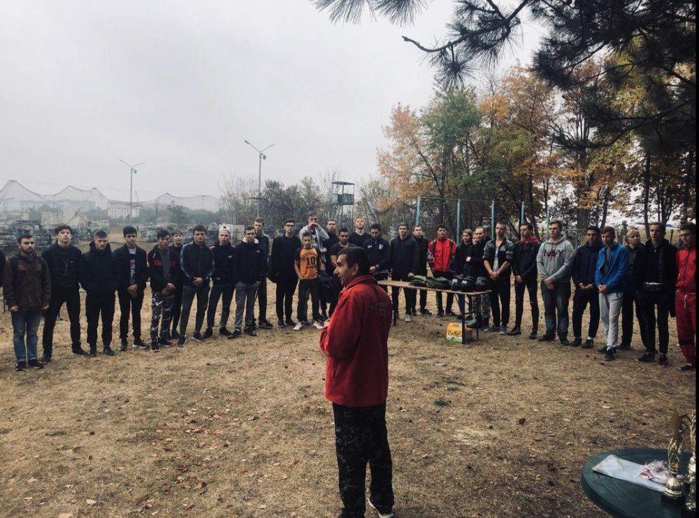 На турнире по пейнтболу в Симферополе победила команда из КИПУ