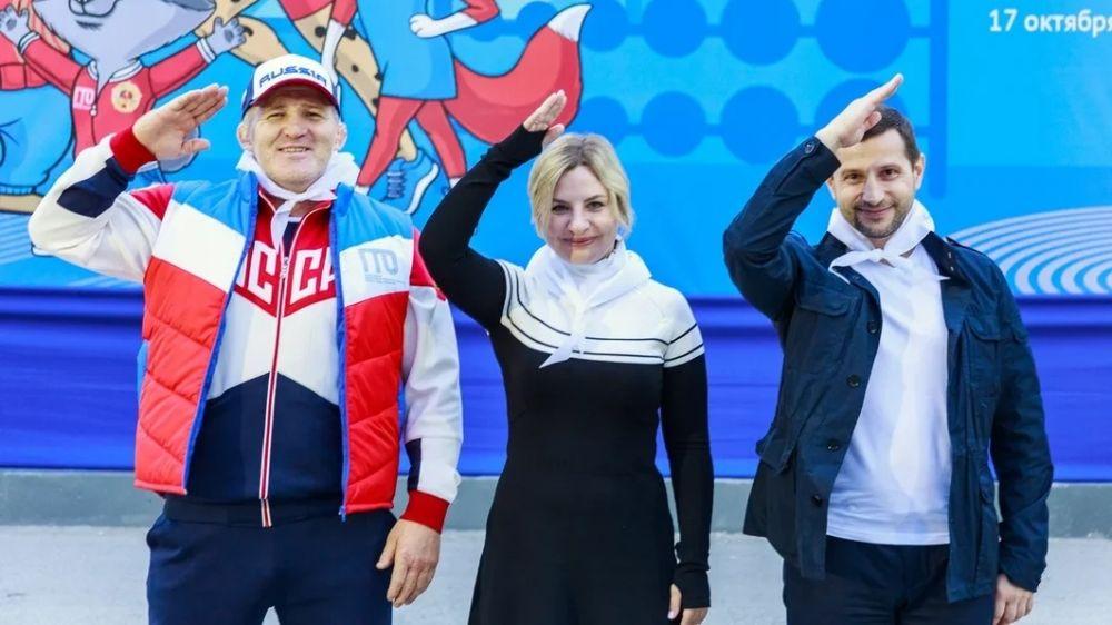 Пятый фестиваль ГТО среди школьников стартовал в Крыму