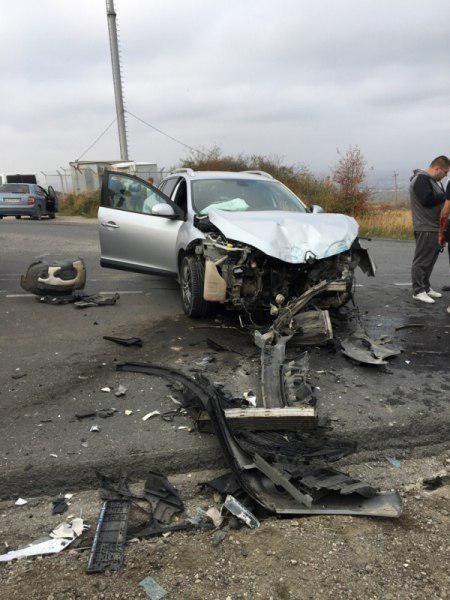 Три человека пострадали в ДТП в районе Феодосии
