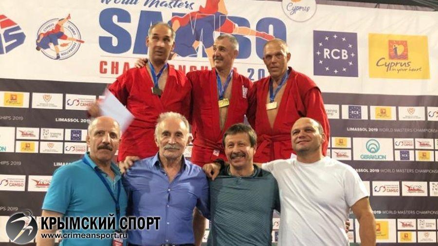 Севастополец Леонид Рубель – бронзовый призер чемпионата мира по самбо среди мастеров!