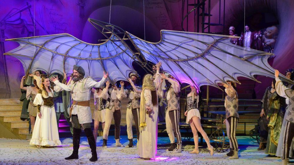 Государственный академический музыкальный театр Республики Крым представит в Москве мюзикл «Леонардо»
