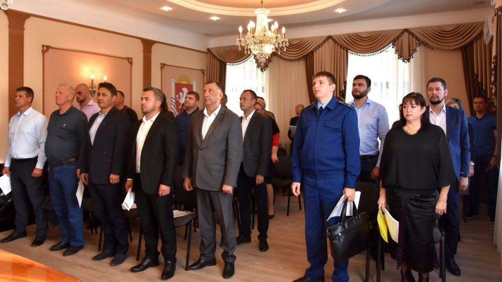 В Бахчисарайском городском совете состоялась 4-я внеочередная сессия