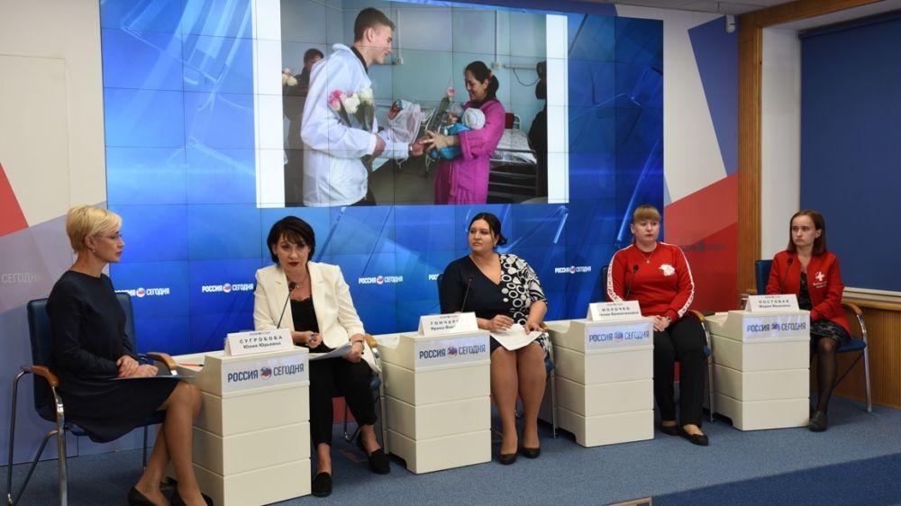 «Волонтеры-медики» принимают активное участие в мероприятиях по реализации нацпроектов в Крыму