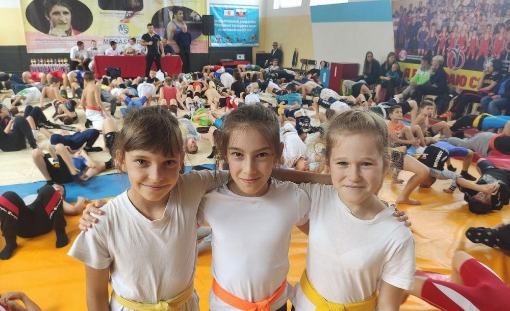 Спортсмены Федерации сумо Ялты завоевали рекордное количество наград республиканского турнира