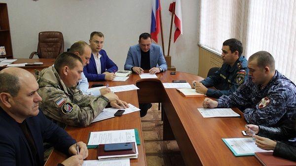 Состоялось заседание антитеррористической комиссии Джанкойского района