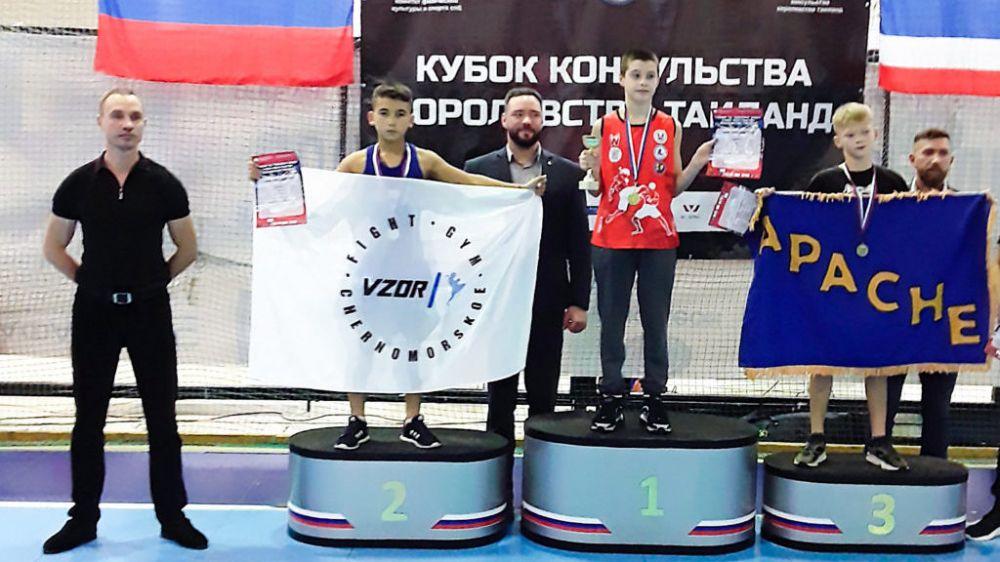 Черноморцы завоевали медали на Кубке консульства Королевства Тайланда по тайскому боксу