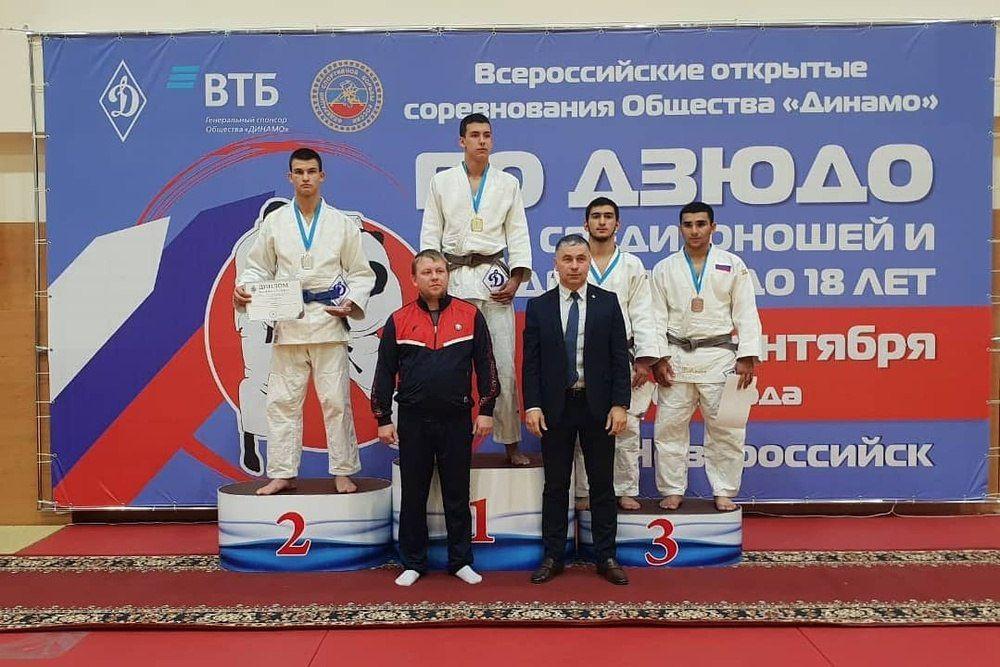 Спортсмены из Симферополя заняли призовые места на соревнованиях по дзюдо