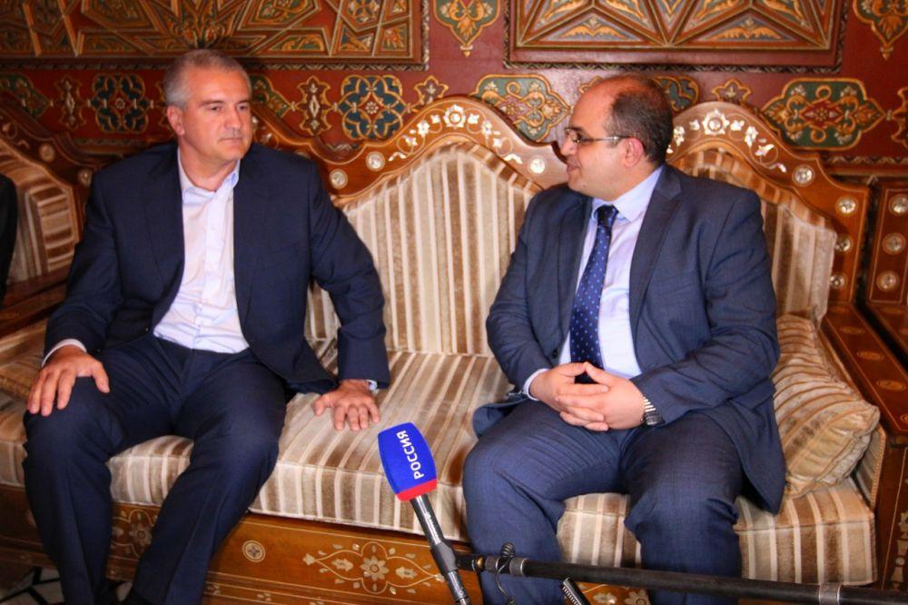 Сирийские цитрусовые и оливковое масло в обмен на крымские электроинструменты