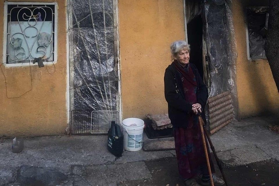 Старушка из Свердловска живет сама в лесу под Алуштой