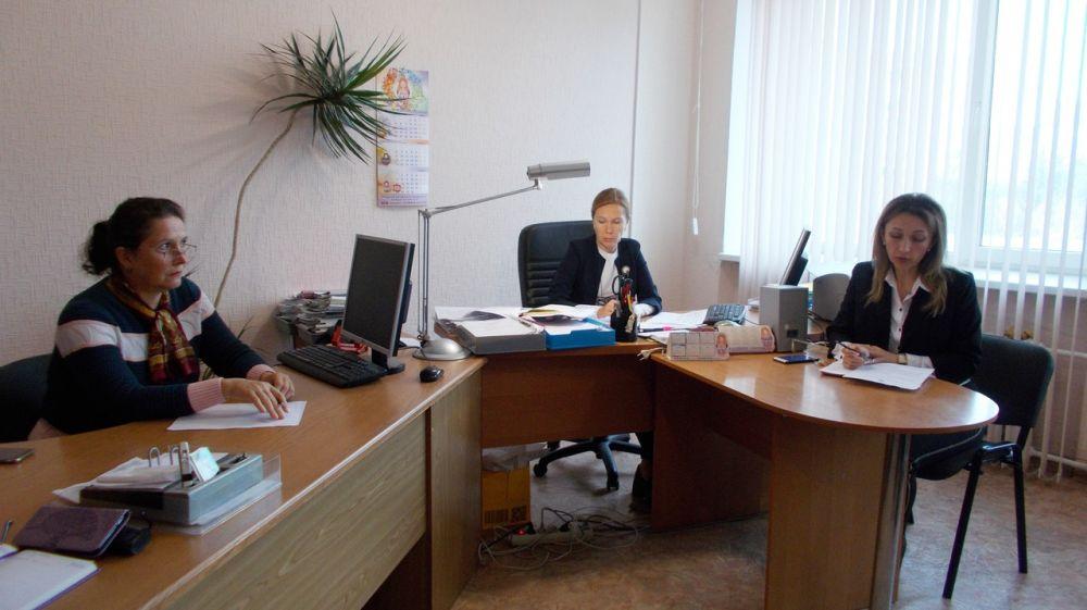 В администрации Красноперекопского района состоялось совещание с руководителями муниципальных казенных учреждений сельских поселений