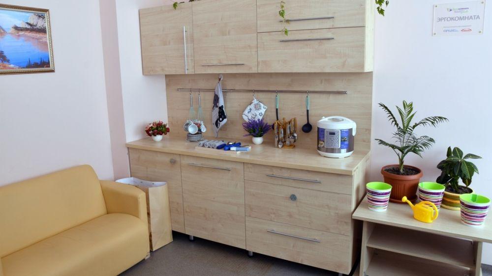 В Симферопольской городской клинической больнице №7 открыли вторую в России эргокомнату