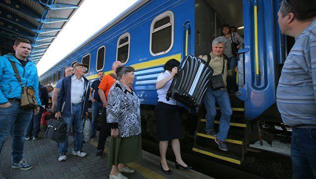 В Крыму заявили о готовности принимать поезда с Украины